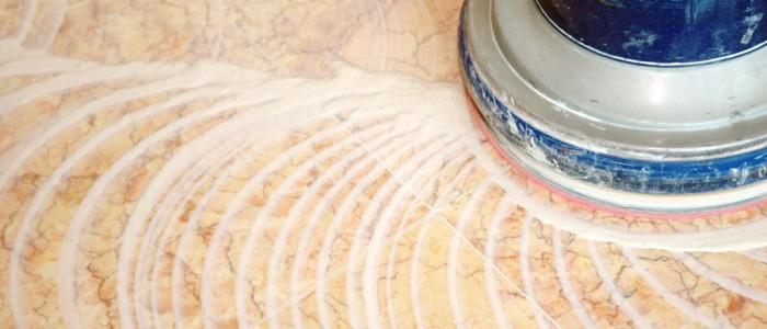 buffer cleaning ceramic floor