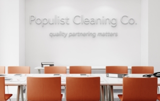 Populist Cleaning Co conference room