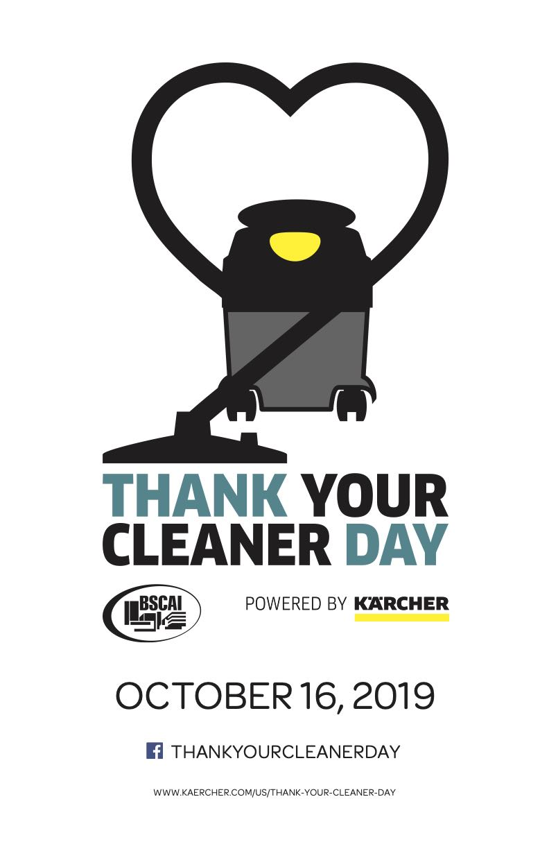 Thank Your Cleaner Day Logo