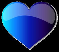 Populist blue heart